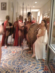 Real-life Spartans from 300